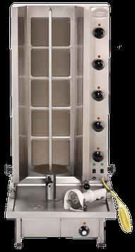 Gyros-Grillgerät Typ Poly Gas 5