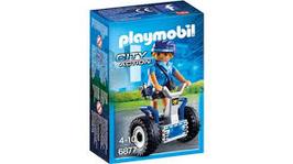 6877 Polizistin mit Balance-Racer