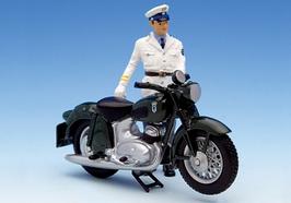 Schuco Piccolo DKW RT 350 Polizei Figur