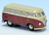 Schuco Piccolo VW T1 Samba beige/rot