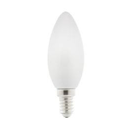 Ampoule E14 - C35 Flamme en verre