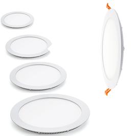 Round Panel Blanc