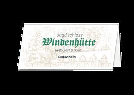 Jagdschloss Windenhütte Restaurant-Gutschein*