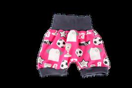 Shorts kurze Pumphose pink Fussball wm weltmeister