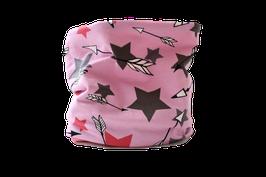 Loop rosa Sterne bunt Stars