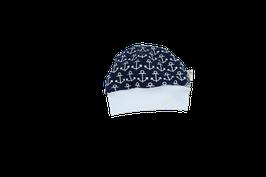 Mütze dunkelblau mit Anker