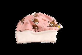 Mütze Reh rosa