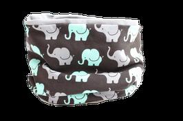 Loop Elefanten schwarz