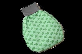 Pucksack Strampelsack Schildkröten grün