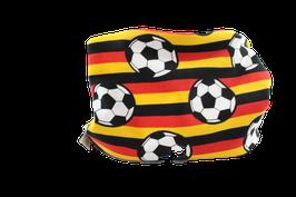 Loop Fussball Deutschland schwarz rot gold