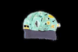 Mütze hello summer grün