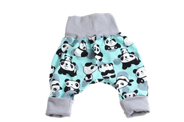 Pumphose Panda mint