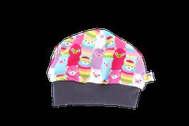 Mütze rainbow lama pink