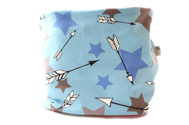 Loop blaue Sterne bunt Stars