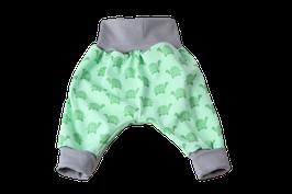 Pumphose Schildkröte grün