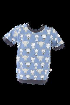 Shirt Babytiere T-Shirt blau
