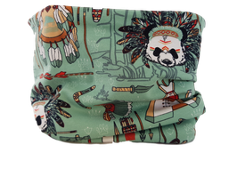 Loop Panda indianer grün