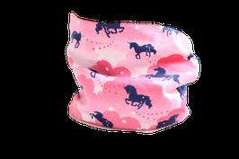 Loop Einhorn rosa Wolken