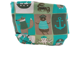 Loop Fuchs Pirat krabbe anker grün