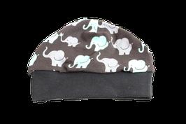 Mütze Elefanten schwarz