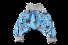 Pumphose blau bunte Sterne Stars