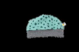 Mütze mint Sterne