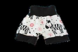 Shorts kurze Pumphose Zebra
