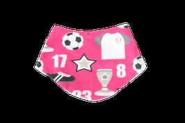 Halstuch pink fussball