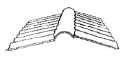 Highlux Firstteil 76/18 - Glasklar - 270mmx1045mm