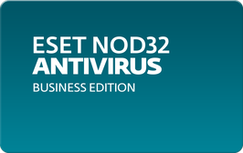 ESET NOD32 Antivirus Business Edition, 1 год, база