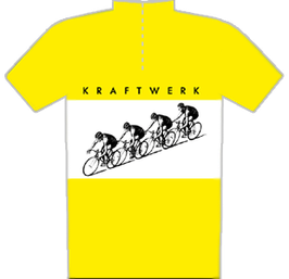 CYCLING JERSEY YELLOW