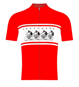 CYCLING JERSEY - RED