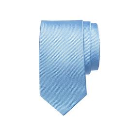 Seidenfaille gewebte Seidenkrawatte, blau