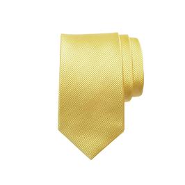 Seidenfaille gewebte Seidenkrawatte, gold