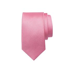 Seidenfaille gewebte Seidenkrawatte, rosa