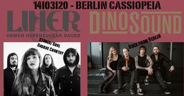 LIHER / DINOSOUND / Berlin / Cassiopeia