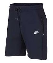 Nike Tech Fleece sportshort - zwart -