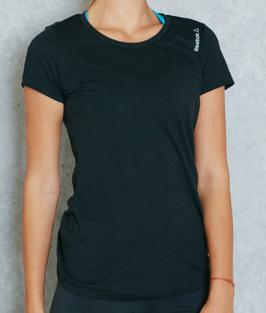 REEBOK Elements classic dames sportshirt - maat 164 -
