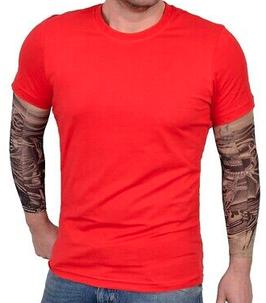 REEBOK Play t-shirt, rood.