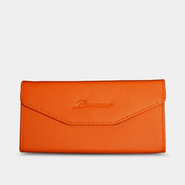 Portefeuille à lunettes - Beaumour - Orange