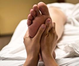 Gutschein für eine Fußmassage