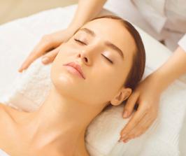 Gutschein für eine Wellness-Gesichts-Behandlung