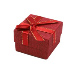 Scatolina Regalo piccola - rossa