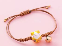Bracciale Gatto giallo - Porta fortuna