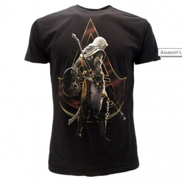 """Assassin's creed - """"Spalle"""" t-shirt ufficiale nera"""