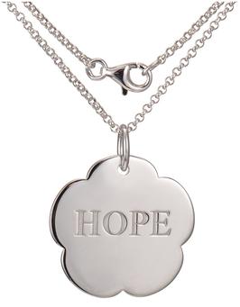 "Emanuel Chianti, Fede ""Hope"" sterling silver pendant"