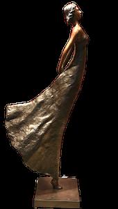 Bronzefigur FLORANCE (Die Schwebende)