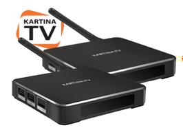 2x Kartina X - Media TV Receiver (BOX)