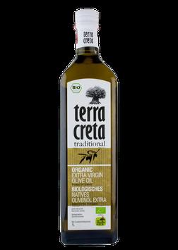 """Terra Creta """"EXTRA VIRGIN"""" Olijfolie BIOLOGISCH"""