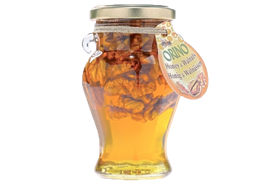 Honing met Walnoten 250 gr.